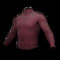 Long Sleeved Turtleneck (Burgundy)