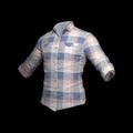 Checkered Shirt (Coral)
