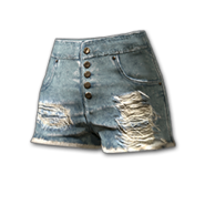 Fringed Hotpants - Pants - PUBG