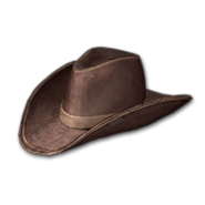 Cowboy Hat (Brown) - Hat - PUBG