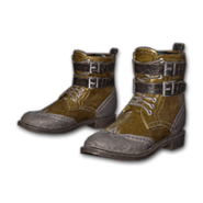 Leather Boots (Brown) - Shoes - PUBG