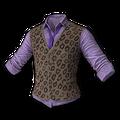 Leopard Print Vest