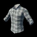 Checkered Shirt (White)