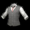 Tweed Vest (Gray)