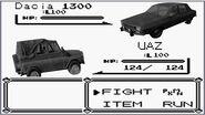 PUBGO-Pokemon battle UAZ vs Dacia 1300 4