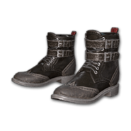 Leather Boots (Black) - Shoes - PUBG