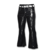 Leather Bootcut Pants - Pants - PUBG