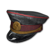 Military Cap (Black) - Hat - PUBG