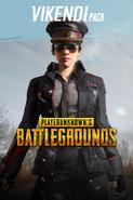 PUBG Vikendi Pack Militäruniform-Set Weiblich