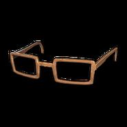 PUBG Hornbrille (Braun)