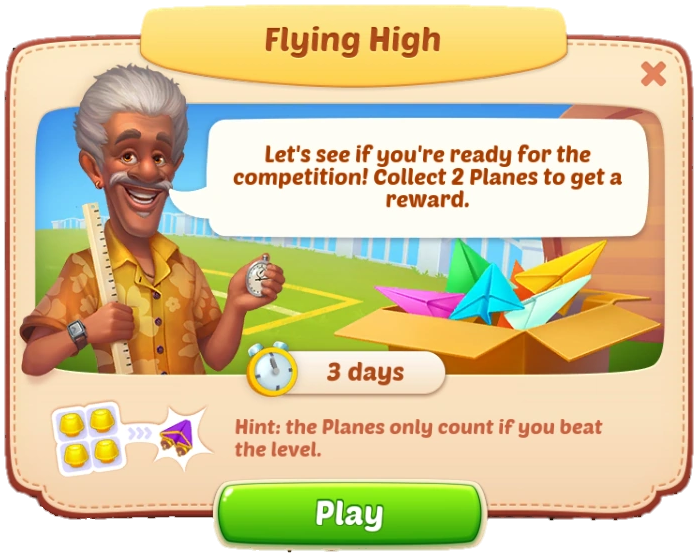 Flying High Event