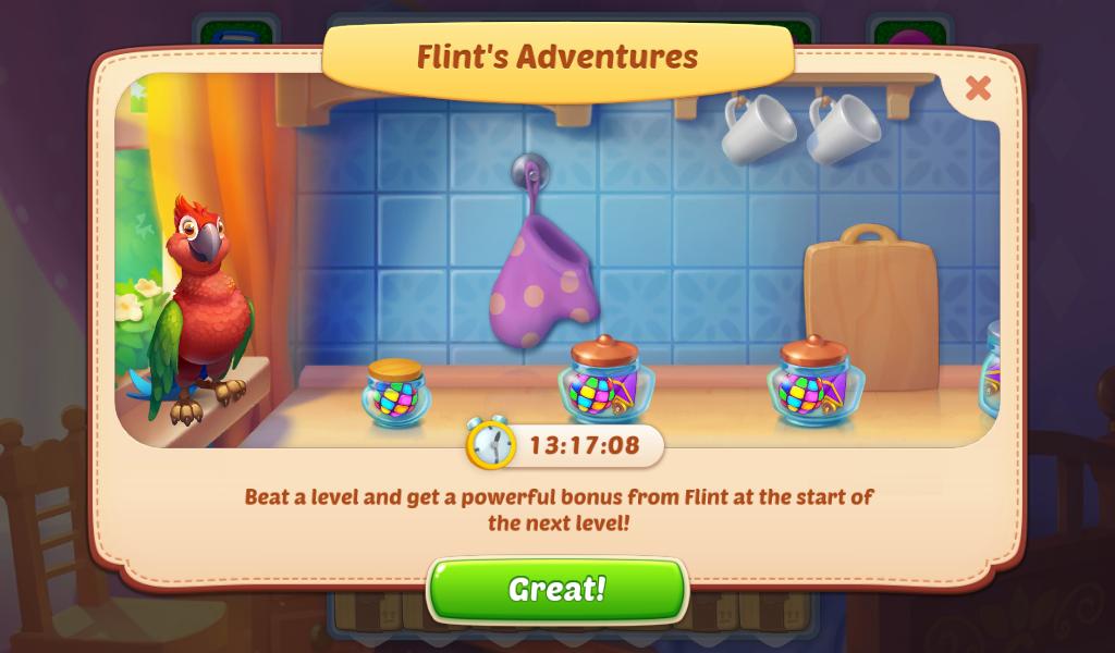Flint's Adventures Event