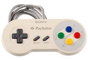 The Nintendo PlayStation Controller.