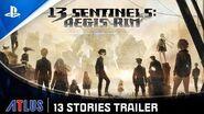 13 Sentinels Aegis Rim - 13 Stories Trailer PS4