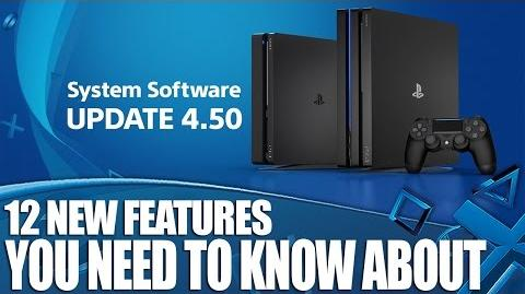 PS4 System Software Update 4