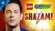 LEGO DC Super-Villains - Shazam DLC Launch Trailer PS4