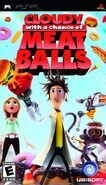 Cloudy with a Chance of Meatballs PSP