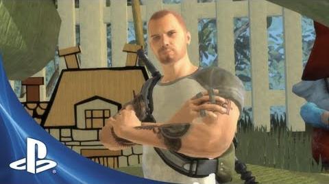PlayStation® All-Stars Battle Royale - Cole MacGrath Trailer