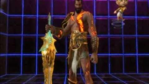 Playstation AllStars Battle Royale - Kratos's Colors (Preorder Costume)