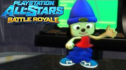 PaRappa the Rapper Gameplay on Hades - PlayStation All-Stars Battle Royale