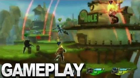 PlayStation All-Stars Battle Royale - Dreamscape Gameplay