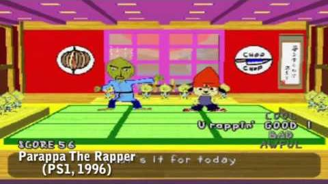 PS All-Stars Battle Royale History - Parappa The Rapper