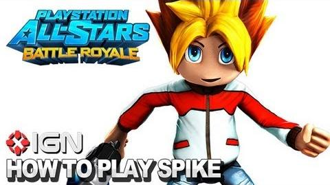 How to Use Spike in PlayStation All-Stars Battle Royale