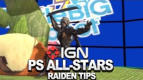 Seth Killian's Raiden Tips & Tricks - PlayStation All-Stars