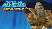 """Playstation All Stars Battle Royale Zeus """"Olympic Armor"""" Costume Review (Commentary)"""