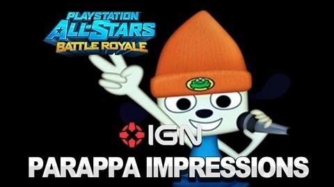 PlayStation All-Stars First Impressions PaRappa the Rapper