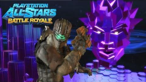 Playstation All Stars Battle Royale Isaac Clarke Arcade Walkthrough (Commentary) (PS3) (HQ)
