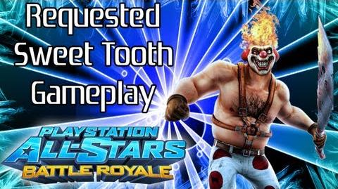 Playstation All-Stars Battle Royale Sweet Tooth Gameplay