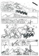 LQDM Kopaka Comic BW