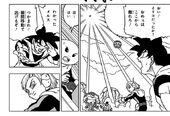 Na rozkaz Gokū Irico zostaje w statku i nie zbliża się (DBS rozdział 50)