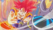Son Gokū Super Saiyanin God (13)
