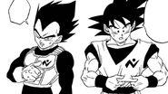 Son Goku i Vegeta (1) (DBS, rozdz. 043)