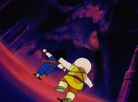 Goku i krilan w srodku
