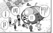 4. Powrót na wyspę (39) Omori i Brief oglądają statek Jaco