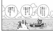 4. Powrót na wyspę (20) Oczekiwanie na lądowanie Kakarotto