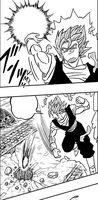 Vegetto Blue Manga Atakuje
