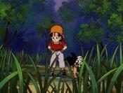 Goku Pan i Gill na planecie Kelbo (DBGT, odc. 007).jpg