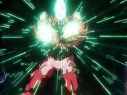 Hachchihyakku po raz pierwszy wykonuje Revenger Charge (9)