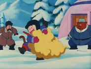 Goku wita się z Kinto