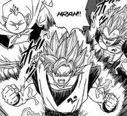 Son Goku, Vegeta i Wielki Bóg Światów (DBS, rozdz. 049)