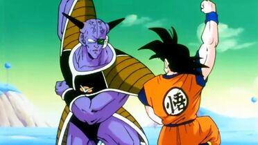 Goku kontra Kapitan Ginyu (1)
