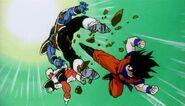 Goku kontra Butter i Jeice