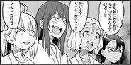 Gamo-chan, Yoshi and Sakura cheers Senpai's judo match