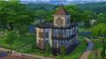Dom rodziny ćwir w the sims 4