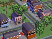 SimsVille Screen Miasto