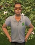 TS2OŻ Koszula z logo The Sims 3 Przód